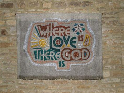 waar liefde is, daar is God