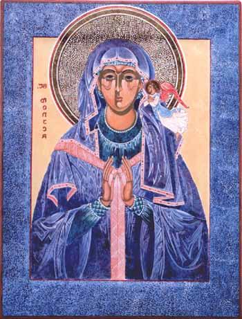 Monica heilige moeder van Augustinus