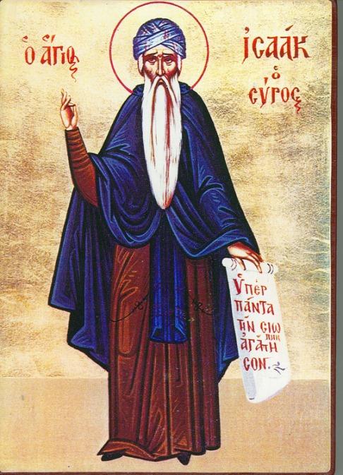 Isaak de Syrier bisschop van NBinive