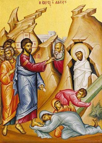 Lazarus opwekking 13