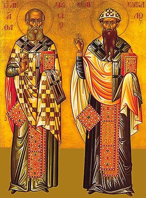 athanasios en kyrillos van Alexandrië 12