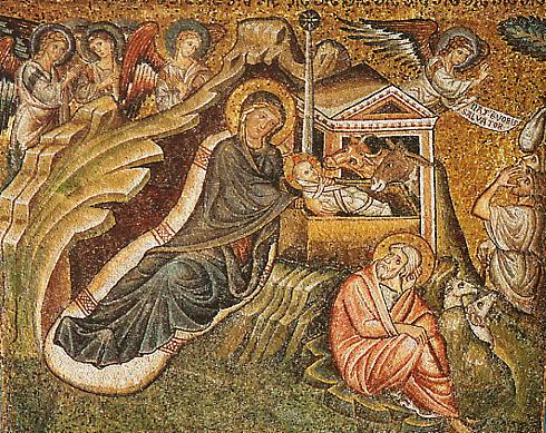 Geboorte van Christus sta %aria Maggiore (431-1296) Concilie van Ephesos Jacopo Torriti