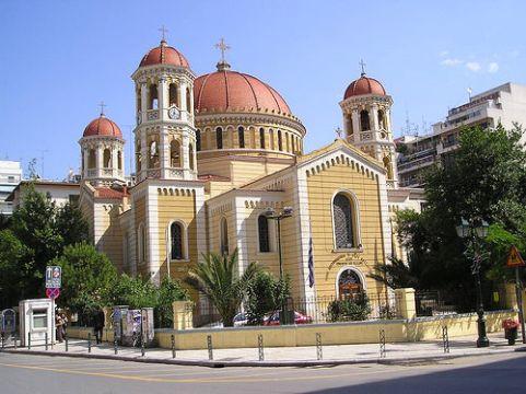 Palams Cathedraal met reliek van de h