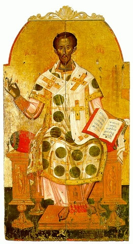 chrysostomos - Michaël Damaskinos - Laat 16e eeuws.jpg