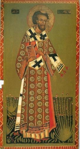 Paneel van een deesis,15e eeuw,Kerk van de Kruisverheffing, Drogobytch, Lviv region, Ukraïne.JPG