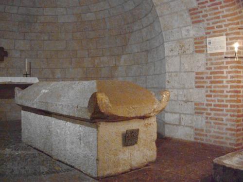 afra - graf in augsburg crypte van de St Ulrich.jpg