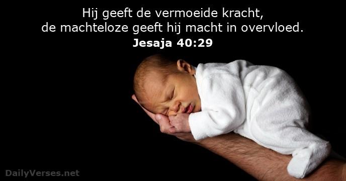 bijbelvers jesaja-40-29