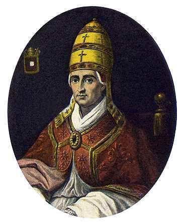 Leo de Grote paus van Rome heilige