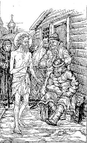 Basilios (Wasili) dwaas om Christus Moscou.jpg